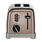 Cuisinart® 2-Slice Stainless Steel Toaster in Umber