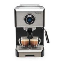 Capresso® EC300 Espresso & Cappuccino Machine in Black/Stainless Steel