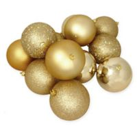 Northlight 12-Pack 4-Inch Christmas Ball Ornaments in