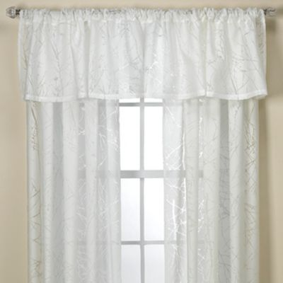Wonderful Branchbrook Window Valance In White