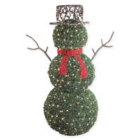 Bethlehem Lights 6.5-Foot LED Snowman Yard Art