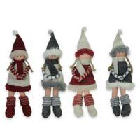 Northlight Christmas Dolls (Set of 4)