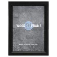Gallery 5-Inch x 7-Inch Wood Frame in Black