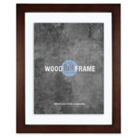 Gallery Wood 11-Inch x 14-Inch Float Picture Frame in Espresso