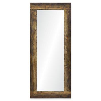 ren wil oxford 85 inch x 36 inch full length hand - Wood Frame Full Length Mirror