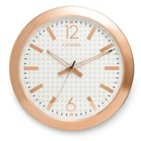 Citizen Gallery Rose Gold-Tone with White Dial Wall Clock
