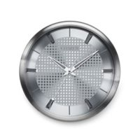Citizen Gallery Brushed Silver with Silver Colored Dial Wall Clock