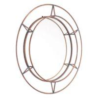 Zuo® Modern Uno 31.9-Inch Round Mirror