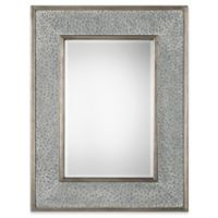 Uttermost Draven 40-Inch x 52-Inch Textured Wall Mirror in Silver