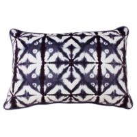 Thro Shark Sadie Shibori Oblong Throw Pillow
