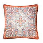 Kensington 2-Pack Square Indoor Throw Pillow in Coral