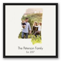 Designs Direct Mississippi 20-Inch Square Framed Wall Art