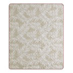 Bali Tropical Indoor/Outdoor Throw Blanket in Khaki