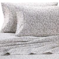 Heartland® HomeGrown™ Vine 400-Thread-Count Sateen King Sheet Set in Grey