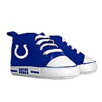 Baby Fanatic Size 0-6M  NFL Indianapolis Colts High Top Pre-Walkers in Blue/White