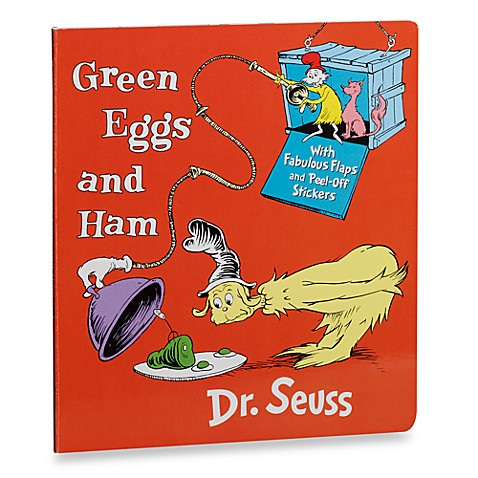 Dr. Seuss' Green Eggs and Ham with Stickers Board Book - Bed Bath ...