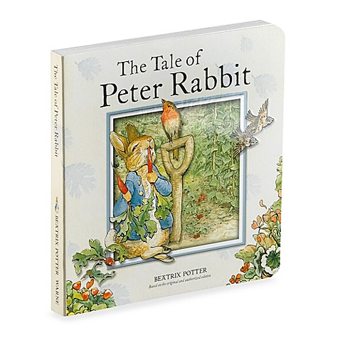 The Tale Of Peter Rabbit Board Book Buybuy Baby