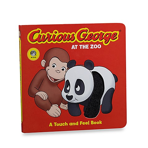 Curious George® At the Zoo Touch and Feel Board Book