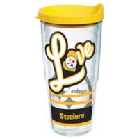 Tervis® NFL Pittsburgh Steelers 24 oz. Love Wrap Tumbler with Lid