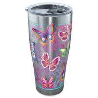 Tervis® Butterfly Motif 30 oz. Stainless Steel Tumbler with Lid