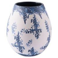 Zuo® Nube Medium Vase in Blue/White