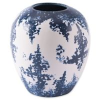 Zuo® Nube Small Vase in Blue/White