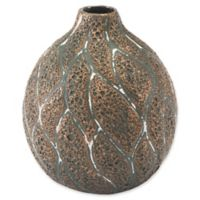 Zuo® Lava Small Vase in Brown/Green