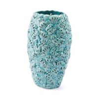Zuo® Petals Small Vase in Teal