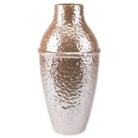 Zuo® Modern Large Textured Vase in Pearl Yellow