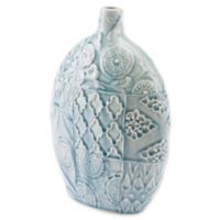 Zuo® Medallion Small Vase in Blue