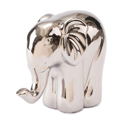 Marvelous Zuo® Silver Elephant