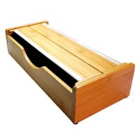 WrapDock Bamboo Drawer Organizer