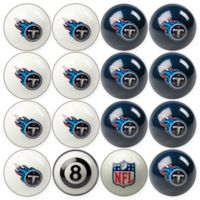 NFL Tennessee Titans Home vs. Away Billiard Ball Set
