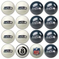 NFL Seattle Seahawks Home vs. Away Billiard Ball Set
