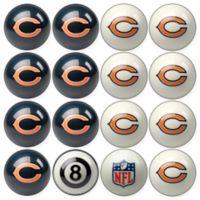 NFL Chicago Bears Home vs. Away Billiard Ball Set