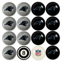 NFL Carolina Panthers Home vs. Away Billiard Ball Set