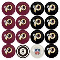 NFL Washington Redskins Home vs. Away Billiard Ball Set