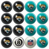 NFL Jacksonville Jaguars Home vs. Away Billiard Ball Set