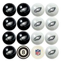 NFL Philadelphia Eagles Home vs. Away Billiard Ball Set