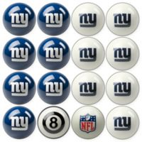 NFL New York Giants Home vs. Away Billiard Ball Set