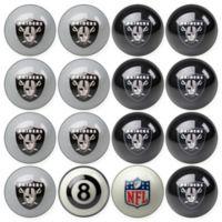 NFL Oakland Raiders Home vs. Away Billiard Ball Set