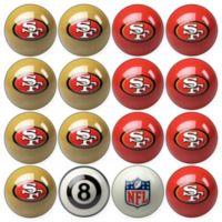NFL San Francisco 49ers Home vs. Away Billiard Ball Set
