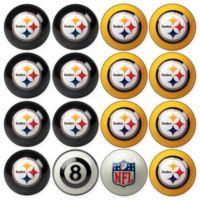 NFL Pittsburgh Steelers Home vs. Away Billiard Ball Set