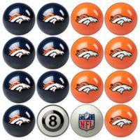 NFL Denver Broncos Home vs. Away Billiard Ball Set