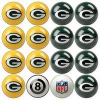 NFL Green Bay Packers Home vs. Away Billiard Ball Set