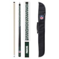 NFL Green Bay Packers Billiard Cue Stick and Case Set