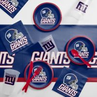 NFL New York Giants 56-Piece Complete Tailgate Party Kit