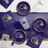 NFL Baltimore Ravens 56-Piece Complete Tailgate Party Kit