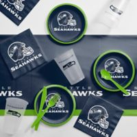 NFL Seattle Seahawks 56-Piece Complete Tailgate Party Kit