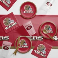 NFL San Francisco 49ers 56-Piece Complete Tailgate Party Kit